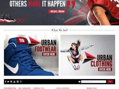 eCommerce: Shangoo Online Sneaker Store