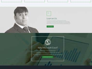 Website: Excel Reporting Services
