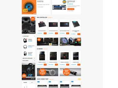 eCommerce: Bounce Sound and Lighting