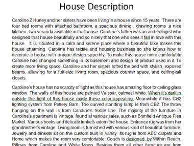 Article about Home Interior