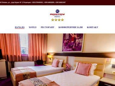 WordPress Website for hotel