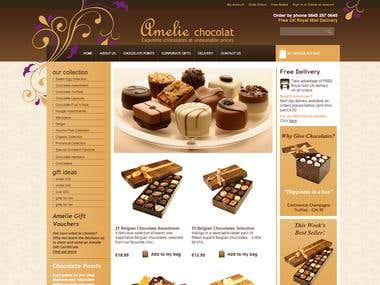 Interspire Choclate Store