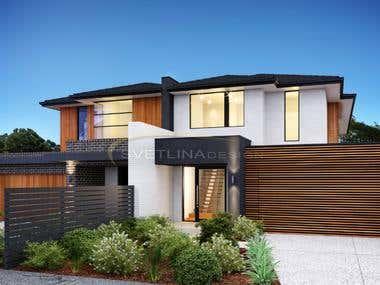 Apartment complex in Melbourne, Australia