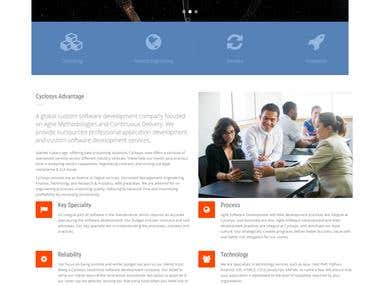 Cyclosys - Software Consulting websie