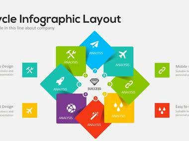 PowerPoint Elements - Puzzle & Pyramid Infographics Concepts