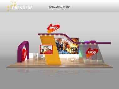 Booth & Stage Event Design