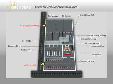 2D and 3D Area & Floor Plan