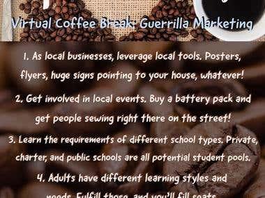 Custom Graphic - Coffee Chat Takeaways Summary