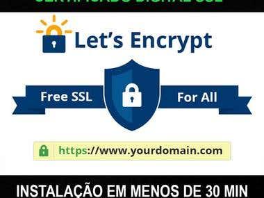 Instalação Certificado Digital SSL