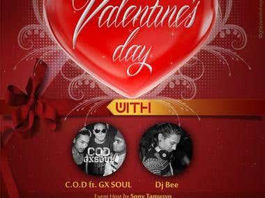 TSN Valentine's Day (flyer/ticket)