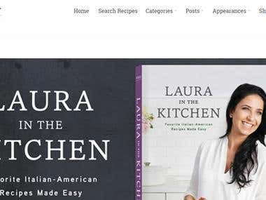 Laura in the Kitchen: Favorite Italian-American Recipes Made