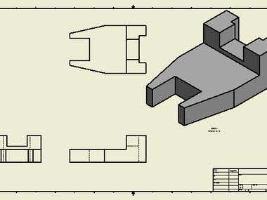 3d isometric with views