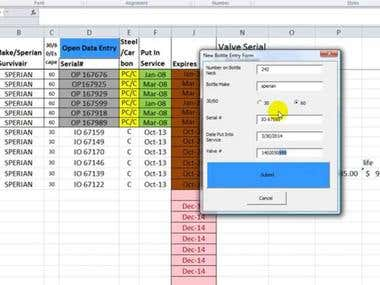 Data Entry Automation With Excel