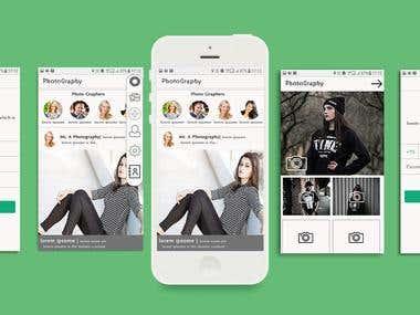 Photography app on kotlin