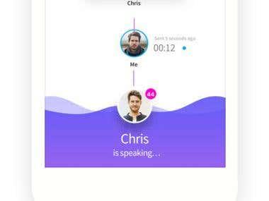 PopTalk - Communication app