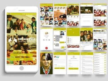 Social App on java and kotlin