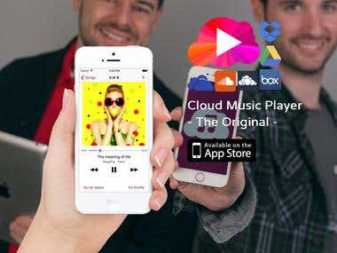 Cloud Music player (iOS)