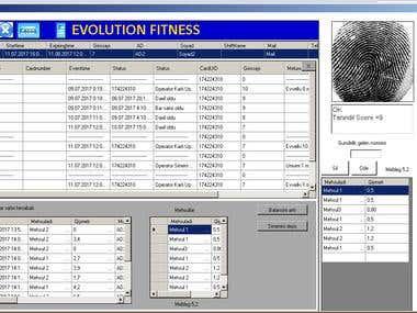 RFID Accescontrol Software