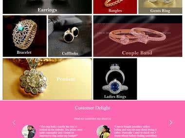 Single Vendor E-Commerce website