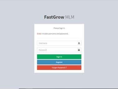 FastGrow MLM System.