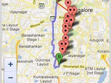 tellmyroute android app