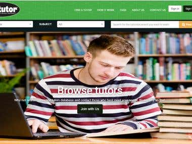 Tutor Find Website - boreca com