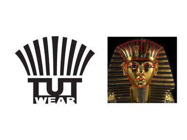 Tut Wear Logo (King Tut)