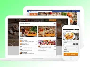Food ordering Website.