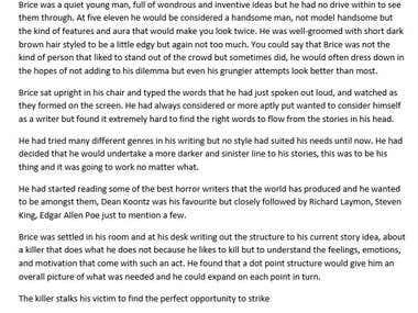 Horror - Short Story