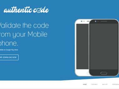 Authentic Code (Mobile and Web)