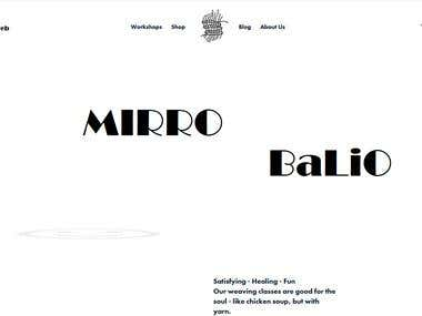 Mirro Balio simple and powerfull view