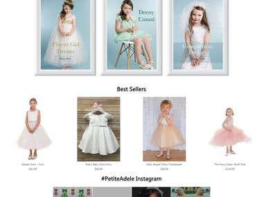Petiteadele [Magento e-commerce website]