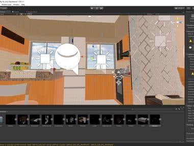"Unity/Steam VR ArchViz Project ""Corona Apartment"""