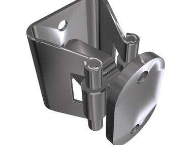 Door Holder, Stainless Steel