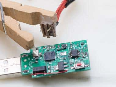 usb temperature logger prototype