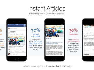 WordPress Instant Articles for Facebook and some minor