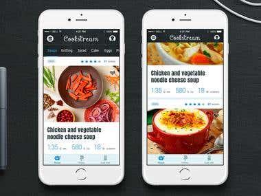 Recipe iPhone App