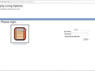 Human Resource Management (Web Form Application)