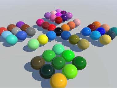 Bakelite material assets for unity