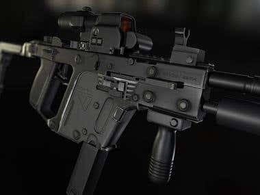 Kriss Vector with attachments