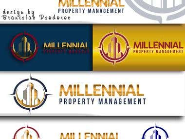 Logo for Millennial Property Management
