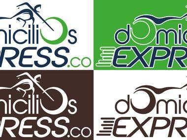 Propuesta de Logotipo para Domicilios Express