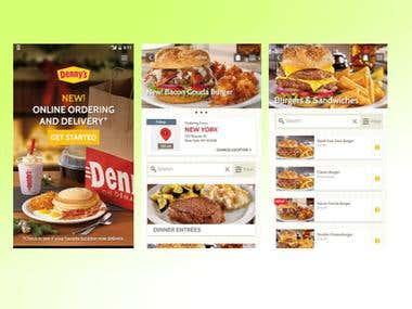 Food Ordering App.