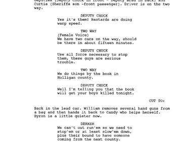 The Candy Factor - original screenplay - extract