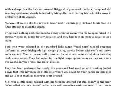 Short story - Sci-fi / Steampunk