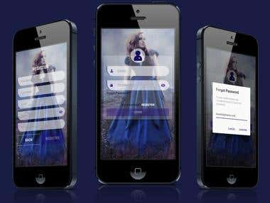 Wedding dress app