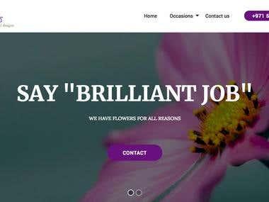 HTML5 + Bootstrap based Dynamic website