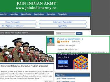 SEO For Joinindianarmy.co