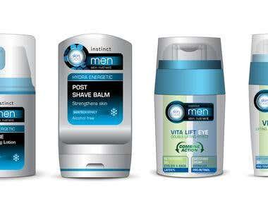 Cosmetic Product, Packaging Design, Aerosol Packaging Design