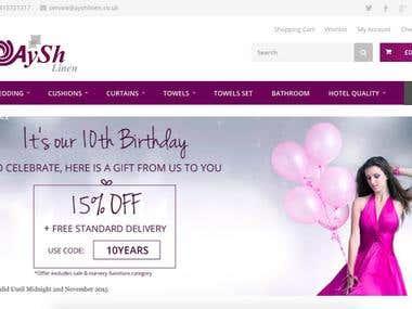 Wordpres website